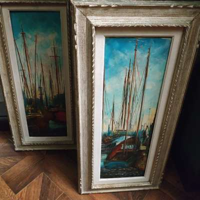 Картина в стиле Винтаж, Франция, середина 20 века
