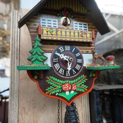 Австрийские часы с кукушкой. в стиле Кантри Австрия, середина 20 века