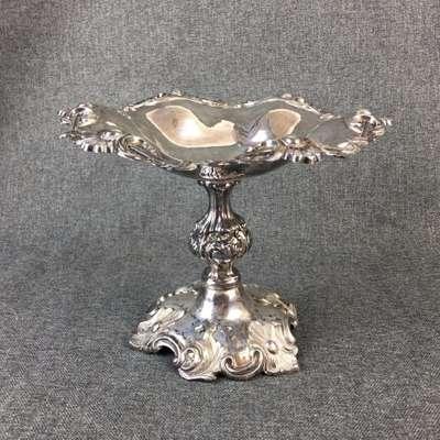 Серебрянная конфетница Густаф Молленборг 19 век в стиле Эклектика Швеция, конец 19 века