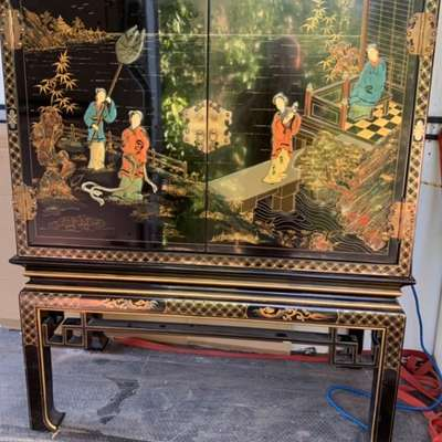 Комод в стиле Шинуазри Бельгия, середина 20 века