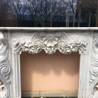 Мраморный портал.антиквариат в стиле Барокко под заказ, Италия, середина 20 века