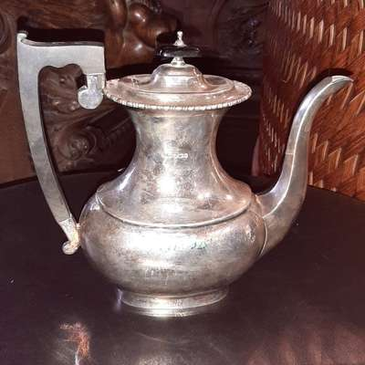 Чайник в стиле Эклектика, Бельгия, начало 20 века