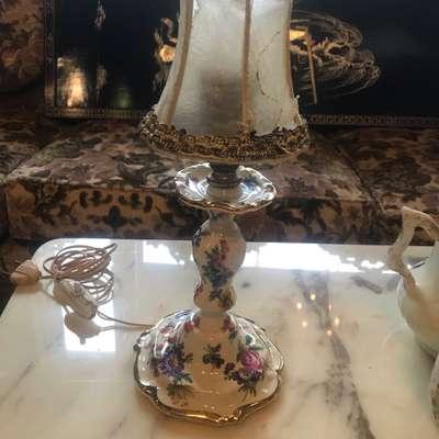 Настольная лампа в стиле Винтаж в наличии, Бельгия, начало 20 века