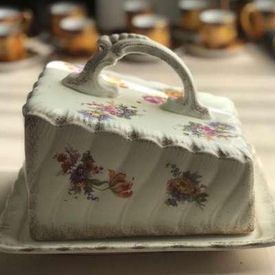 Масленка в стиле Авангард Бельгия, середина 20 века