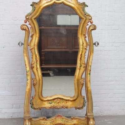 Зеркало в стиле Рококо Людовик XV под заказ, Франция, конец 19 века