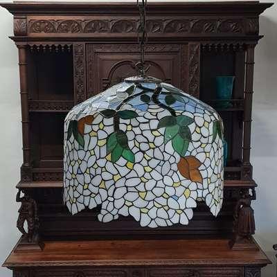 люстра Тиффани в стиле Тиффани Голландия, начало 20 века
