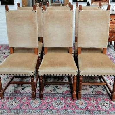 Набо из 6 стульев в стиле Викторианский, Голландия, середина 20 века