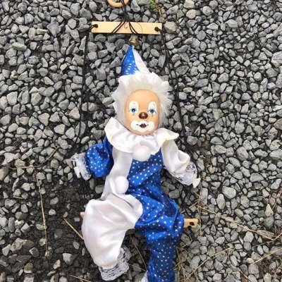 """Кукла-марионетка """"Клоун"""" в стиле Эклектика, Франция, начало 21 века"""
