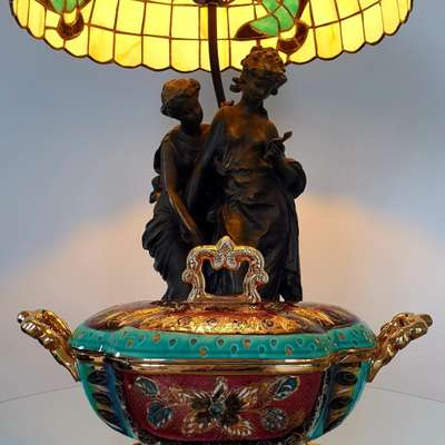 Бонбоньерка в стиле Винтаж, Бельгия, середина 20 века