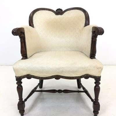 Кресло в стиле Генрих II Бельгия, начало 20 века