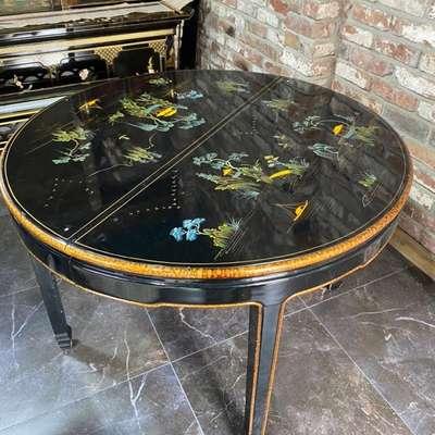 Обеденный стол в стиле Шинуазри, Франция, начало 20 века