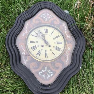 Часы в стиле Ар-нуво, Бельгия, середина 20 века
