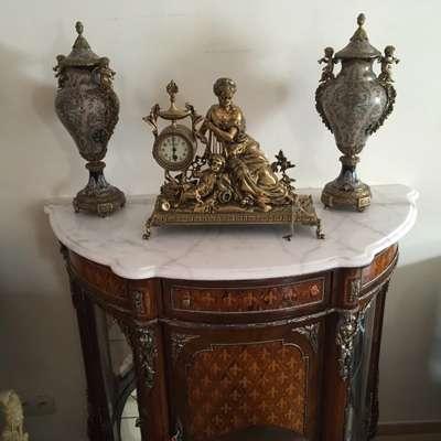 Комод с мрамором в стиле Людовик XVI Бельгия, конец 20 века