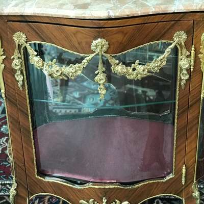 Витрина в стиле Ампир Бельгия, середина 20 века