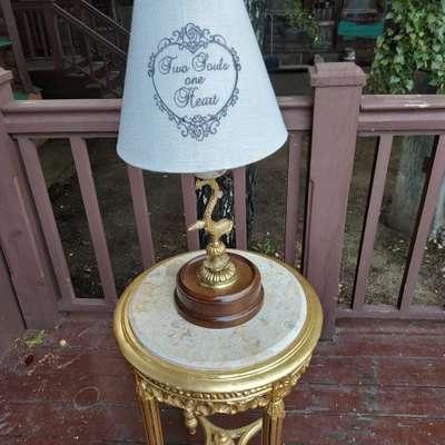 Лампа настольная в стиле Барокко, Бельгия, середина 20 века