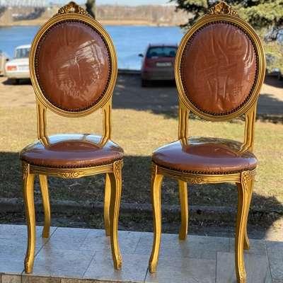 Пара стульев в стиле Эклектика, Франция, середина 20 века