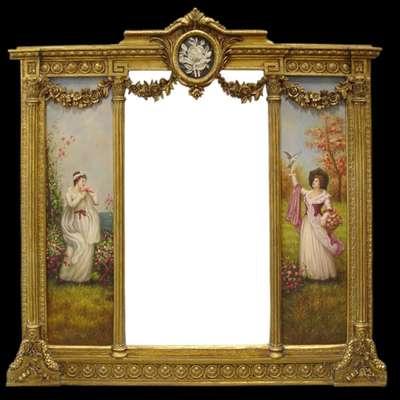 Винтажное Зеркало в стиле Арт Деко под заказ, Голландия, начало 21 века