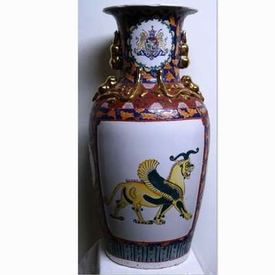 Большая китайская ваза в стиле Восточный, Голландия, середина 20 века