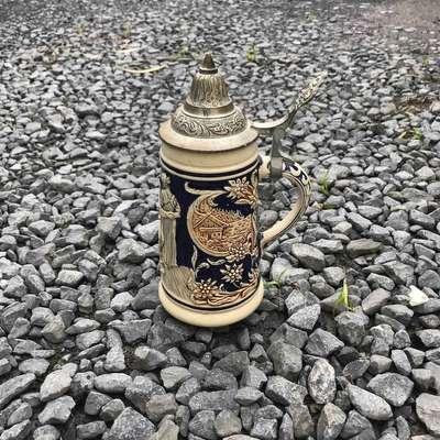 Кружка с крышкой в стиле Винтаж Бельгия, середина 20 века