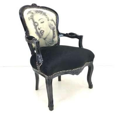 Кресло Винтажное в стиле Луи Филипп Бельгия, середина 20 века