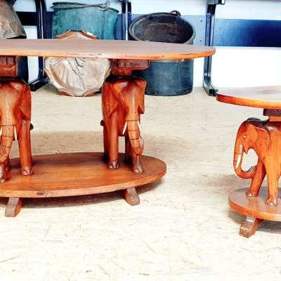 Салонный столик в стиле Восточный, Бельгия, середина 20 века