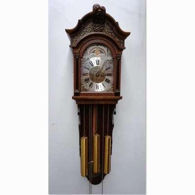 Настенные часы Wuba Warmink с лунным календарем. в стиле Классицизм (классика) Голландия, середина 20 века