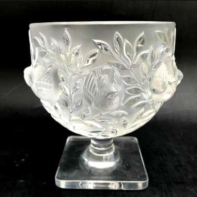 Хрустальная ваза Lalique в стиле Ар-деко, Франция, конец 20 века