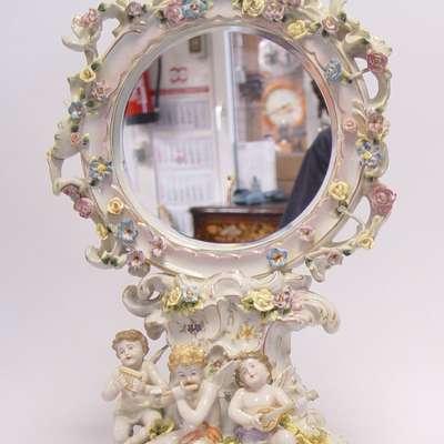 Зеркало фарфор в стиле Барокко Голландия, начало 21 века