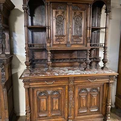 Буфет в стиле Генрих II Франция, конец 19 века