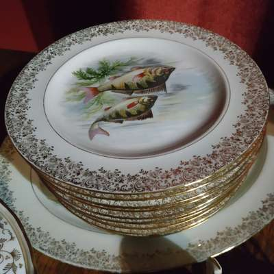 Тарелки в стиле Барокко Франция, начало 20 века