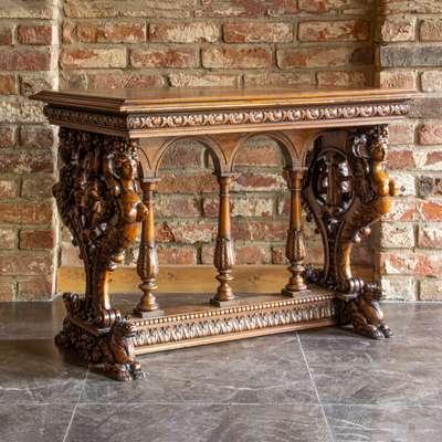 Стол в стиле Ренессанс, Франция, конец 19 века