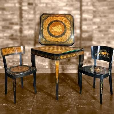Стол игральный в стиле Эклектика, Бельгия, начало 20 века