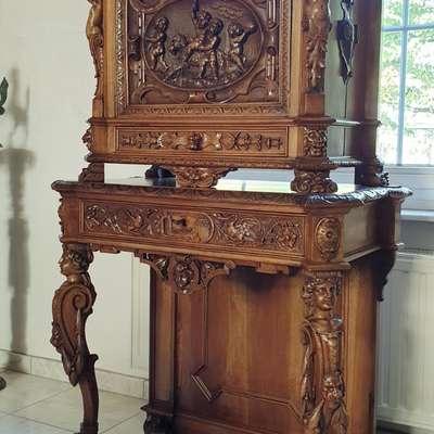 Кабинетный шкаф в стиле Наполеон III Франция, конец 18 века