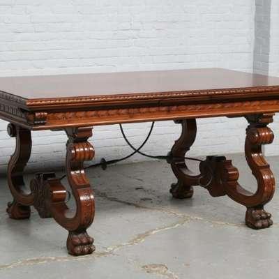 Стол обеденный в стиле Классицизм (классика) под заказ, Бельгия, середина 20 века