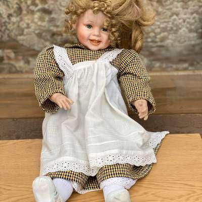 Кукла в стиле Винтаж, Франция, середина 20 века