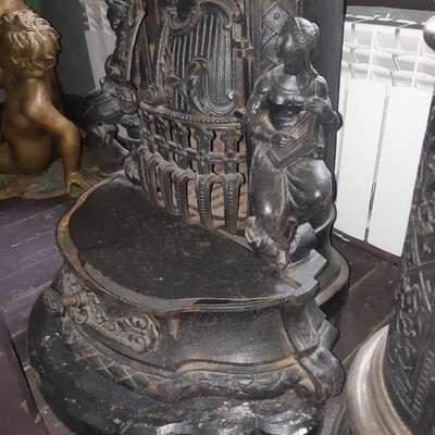 Антикварная печь в стиле Неоренессанс Франция, конец 19 века