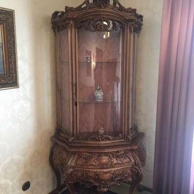 Витрина в стиле Барокко под заказ, Италия, середина 20 века