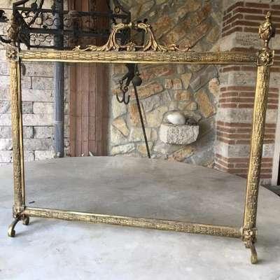 Экран каминный в стиле Ампир Италия, середина 20 века