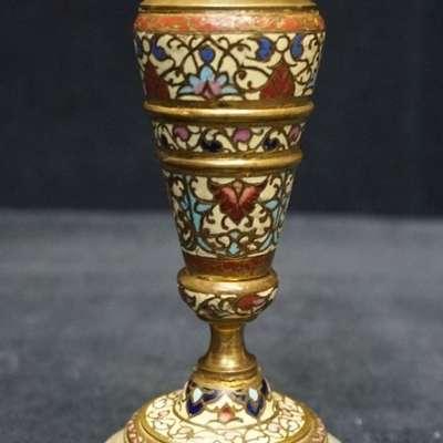 Бронзовый подсвечник. в стиле Классицизм (классика) Бельгия, середина 19 века