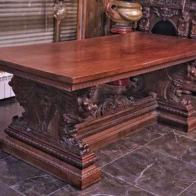 Стол обеденный в стиле Ренессанс, Франция, конец 19 века