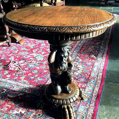 Столик в стиле Ренессанс, Франция, конец 19 века