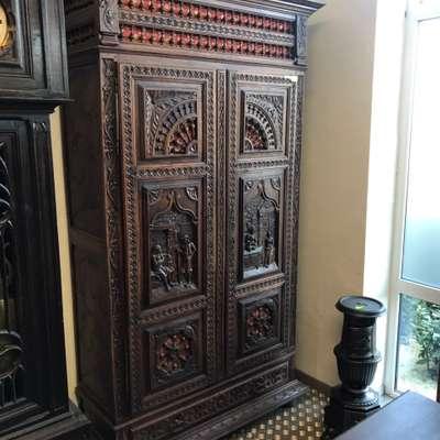Шкаф в стиле Бретонь в стиле Бретонский в наличии, Франция, конец 19 века