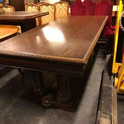 Стол обеденный и стулья в стиле Ренессанс Голландия, конец 19 века