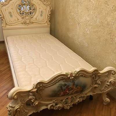 Кровать детская в стиле Барокко под заказ, Италия, середина 20 века
