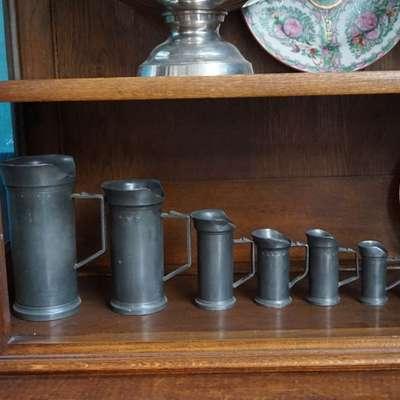 Набор оловянной мерной посуды. в стиле Историзм Голландия, середина 19 века