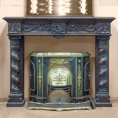 Портал для камина в стиле Ренессанс, Франция, конец 19 века
