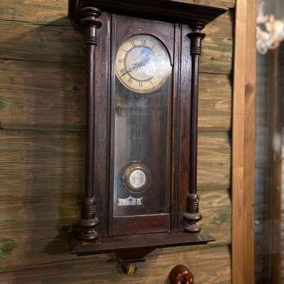 Часы настенные в стиле Эклектика, Германия, конец 19 века