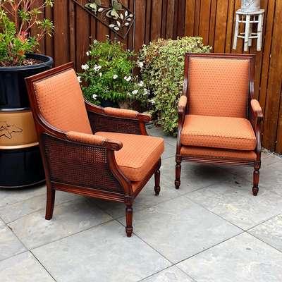 Кресла пара в стиле Модерн, Англия, начало 20 века
