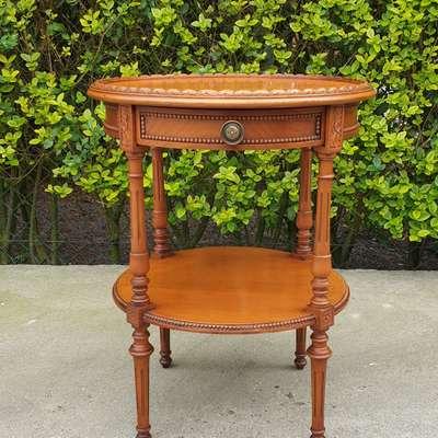 чайный столик в стиле Прованс Англия, начало 20 века