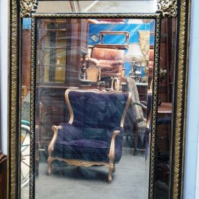 Большое антикварное зеркало. в стиле Ренессанс Франция, середина 19 века